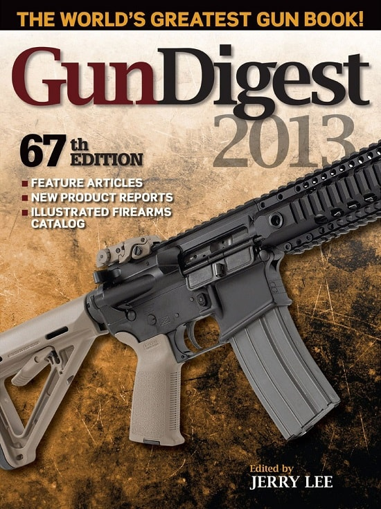 Gun Digest 2013 Magazine Cover